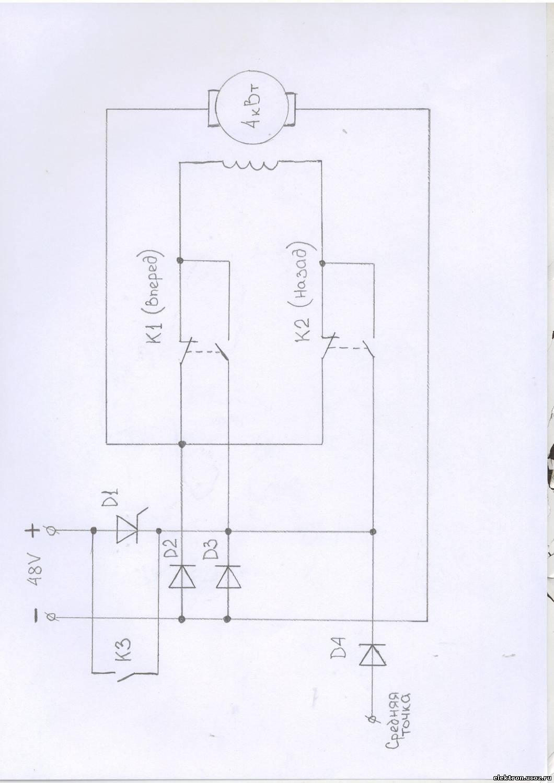схема зу для акб на симисторе и транзисторе кт117